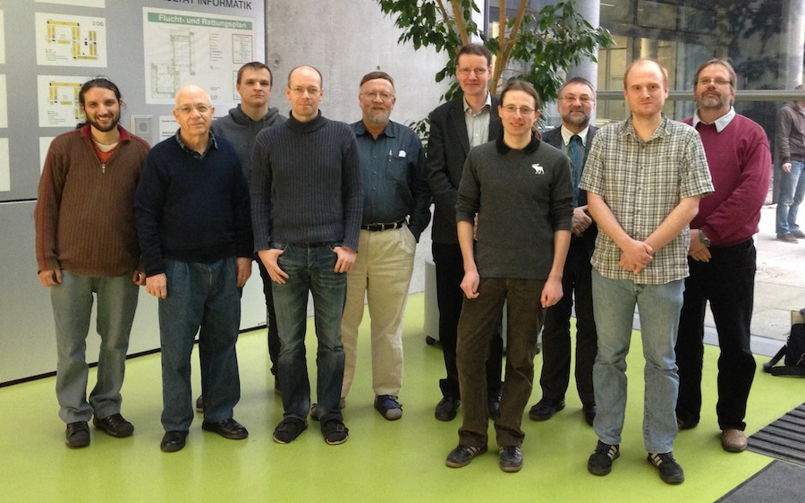 The FFMK team at the kickoff meeting in Dresden, February 2013